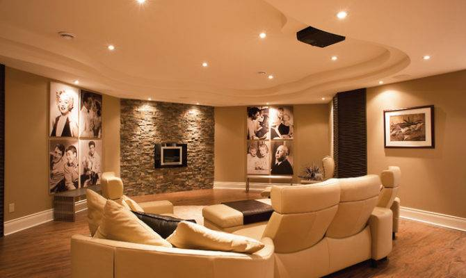 Award Winning Basement
