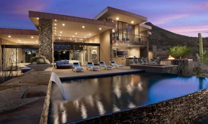 Award Winning Modern Luxury Home Arizona Sefcovic Residence