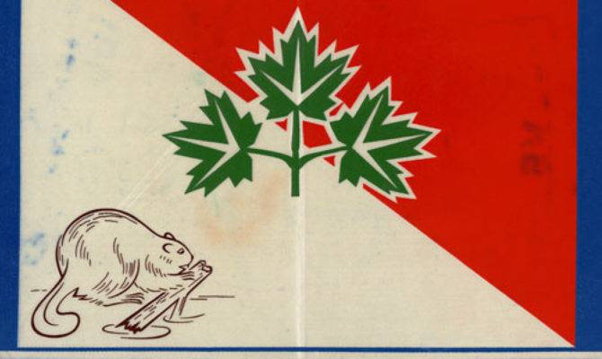 Awesome Canadian Flag Designs Got Cut Photos
