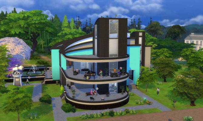Awesome Fan Made Houses Can Sims