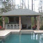 Awesome Home Outdoor Kitchen Pool Bistrodre Porch