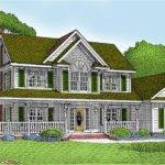 Awesome House Plan Wrap Around Porch Country