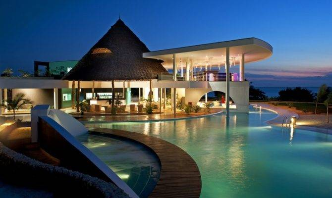 Awesome House Pool Pools Spas Pinterest