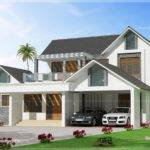 Awesome Modern Villa Exterior Elevation Home Kerala Plans
