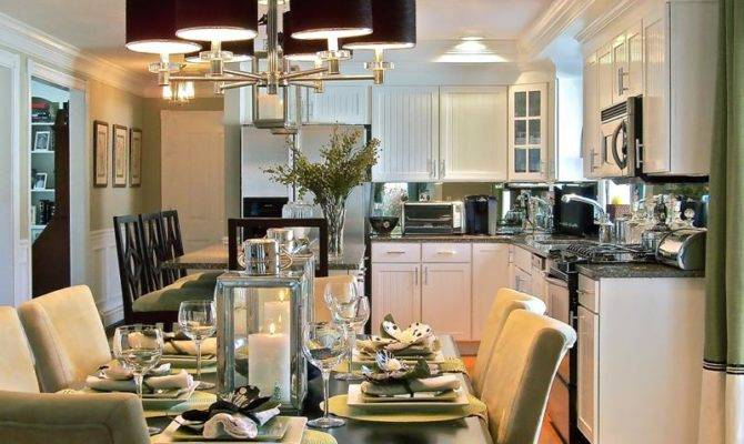 Awesome Open Concept Dining Room Designs