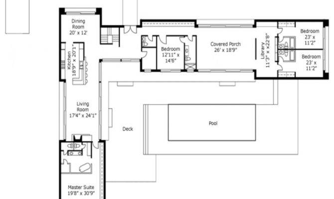 Awesome Shaped House Plans Home Design Simple