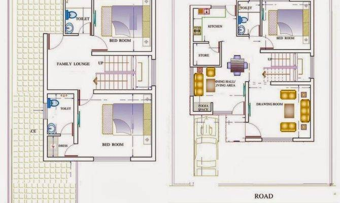 Awesome Simple Duplex House Plans Home