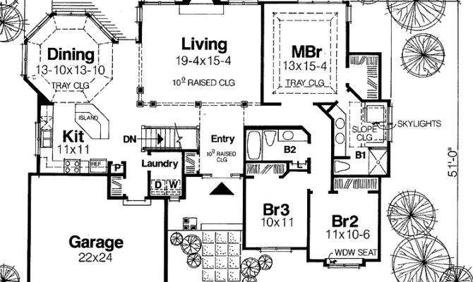 Awesome Single Story Luxury House Plans One