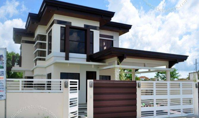 Awesome Storey Modern House Designs Floor Plans