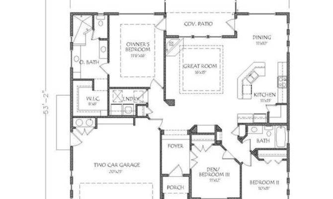 Awesome Western House Plans Ranch Style Home