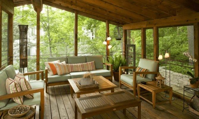 Back Front Porch Enclosure Ideas