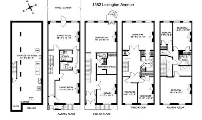 Back Historic Brownstone Floor Plans Home