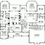 Back Pix One Floor House Blueprints