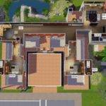 Back Pix Sims Modern Mansion Floor Plans