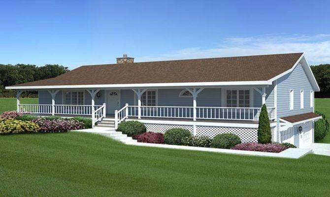 Back Porch Decks Popular Ranch Style House Plans