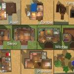 Back Sims Simple House Plans