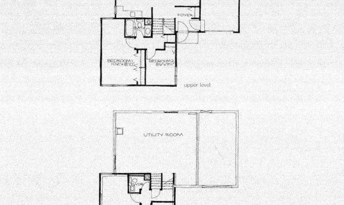 Back Split Level House Plans