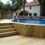 Backyard Deck Mini Pool Design Ideas Felmiatika