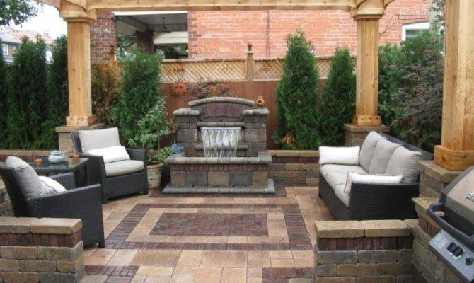 Backyard Patio Ideas Landscaping Gardening