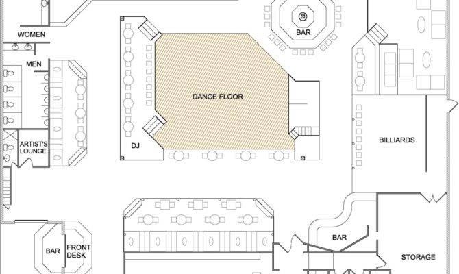 Bag Zebra Bar Nightclub Floor Plans