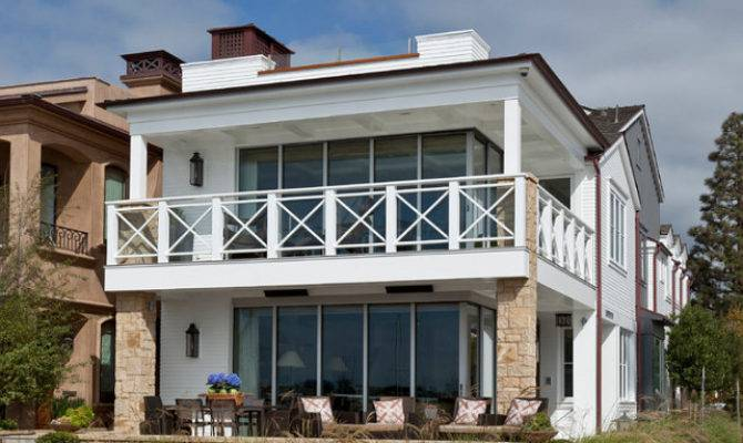 Balboa Island Beach House Coastal Interiors Home