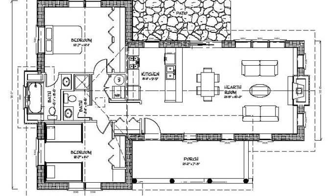 Bale Cabin Plan