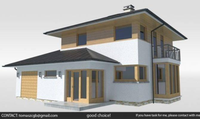 Bambo House Model Obj Blend Fbx
