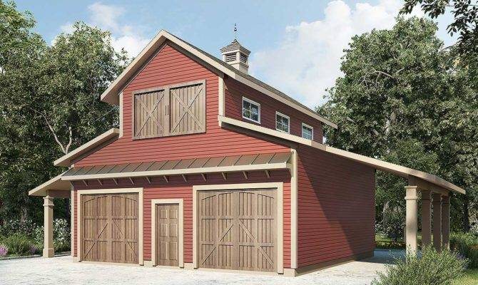 Barn Like Car Workshop Plan Architectural