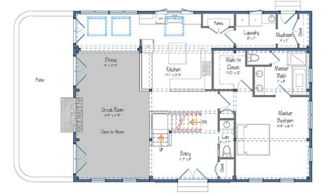 Barn Style House Floor Plans Diy Shed