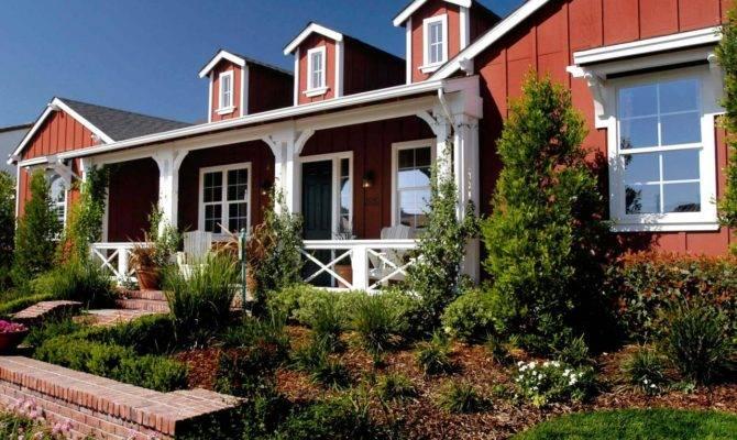 Barn Style Ranch Home Spacious Front Porch Hgtv