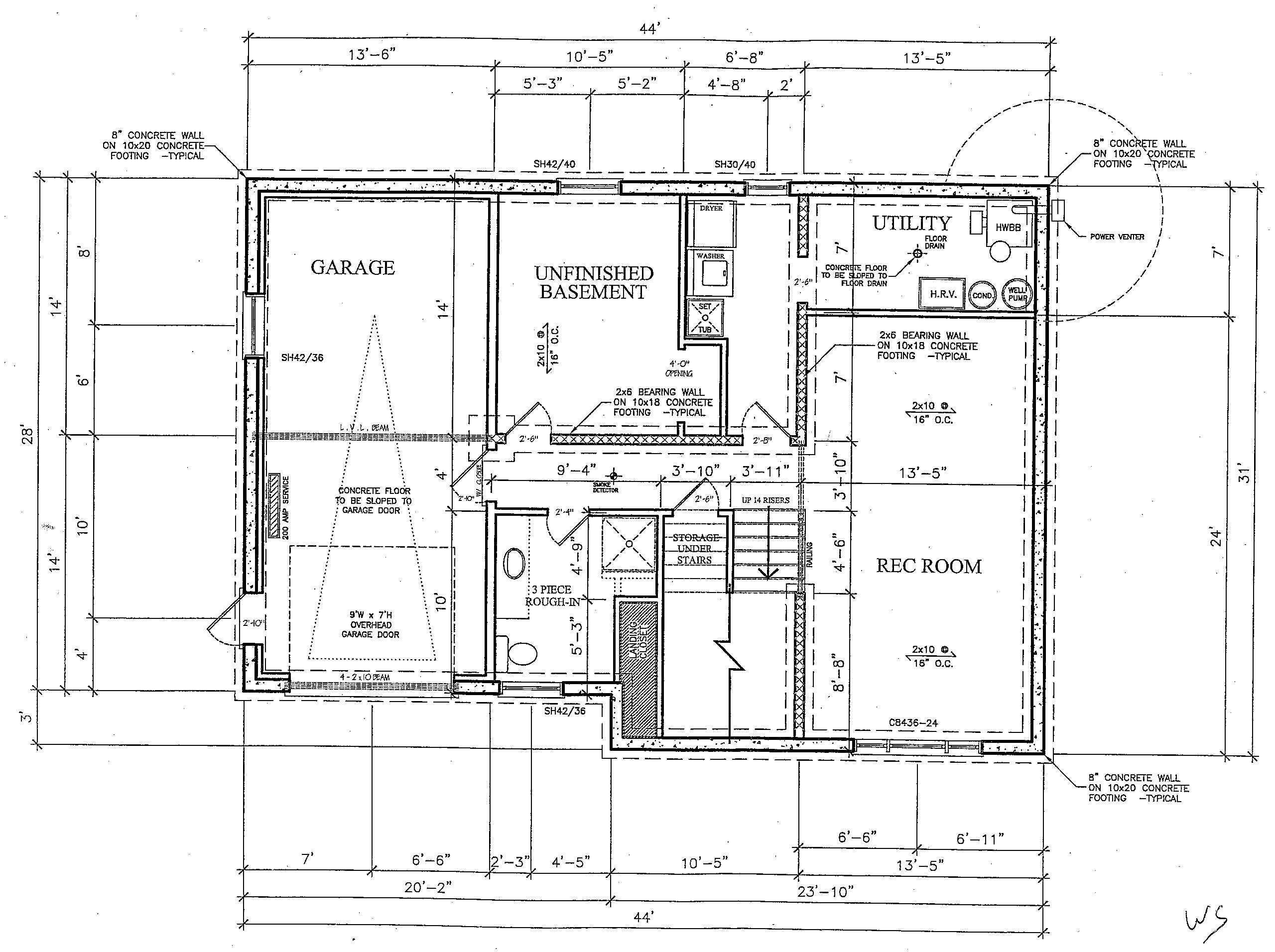 Basement Finishing Plans Layout Design Ideas Diy Home Plans Blueprints 49258