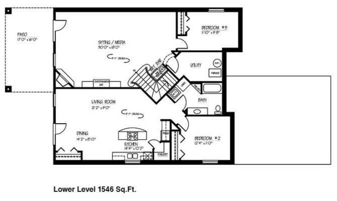 Basement Floor Plan Pinterest