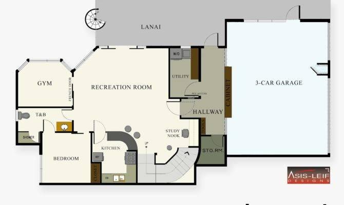 Basement Floor Plans Kitchen Finished