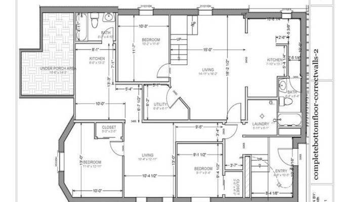 Basement Garage Apartment Floor Plans
