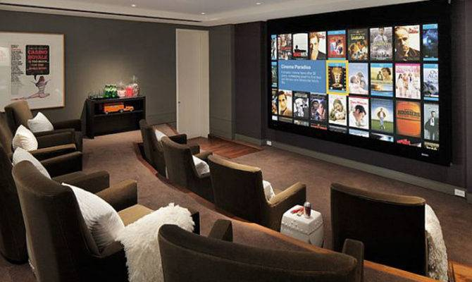Basement Home Theater Design Ideas Your Modern