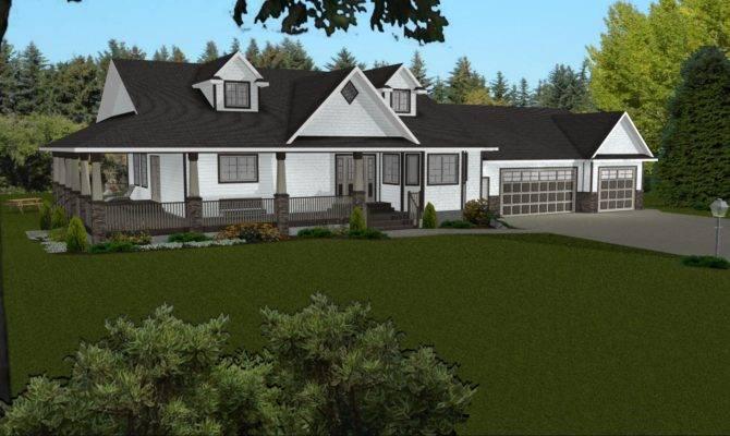 Basement House Plans Walkout Bungalow