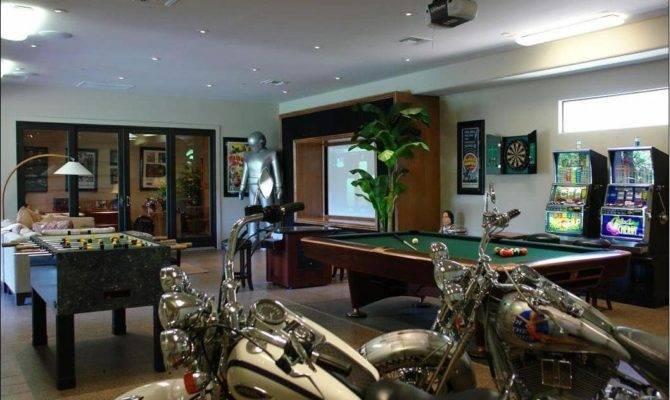 Basement Ideas Pinterest Cool Game Room Garage