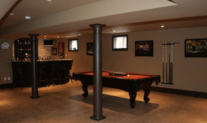 Basement Recreation Room Bar