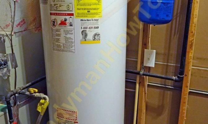 Basement Water Heater Temperature Pressure Valve