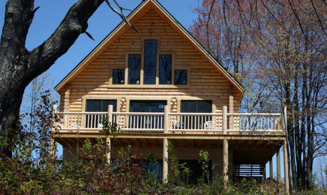 Basement Your Log Home Plus Build Budget