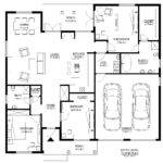 Basic House Plan Plans Main Floor