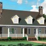 Bath Country Farmhouse Style House Plan Plans Floor