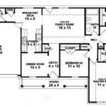 Bath Traditional Ranch Style House Plan Plans Floor
