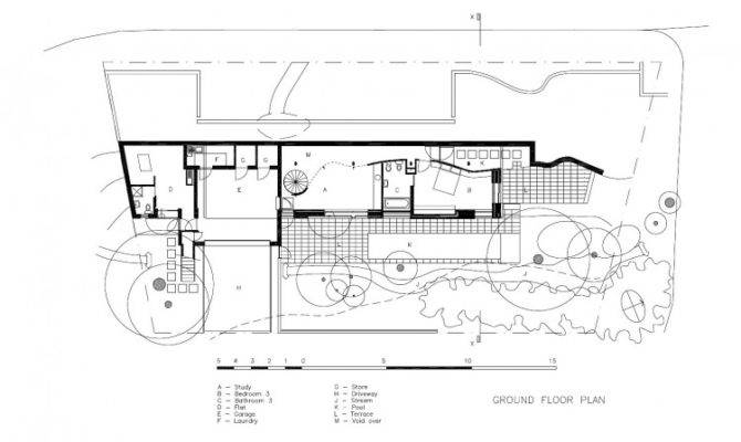 Bathroom Bedroom Design Floor Plan Tree House Modern