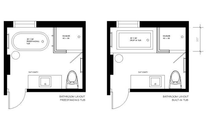 Bathroom Design Layout Best Room