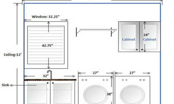 Bathroom Laundry Room Combo Floor Plans Withal
