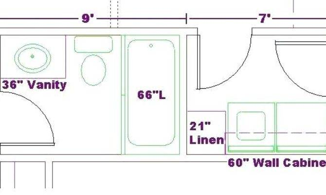 Bathroom Laundry Room Floor Plans Small