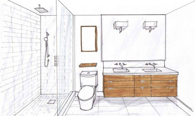 Bathroom Narrow Master