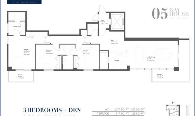 Bay House Miami Floor Plans Escortsea