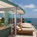 Beach California Beautiful Modern House Panoramic
